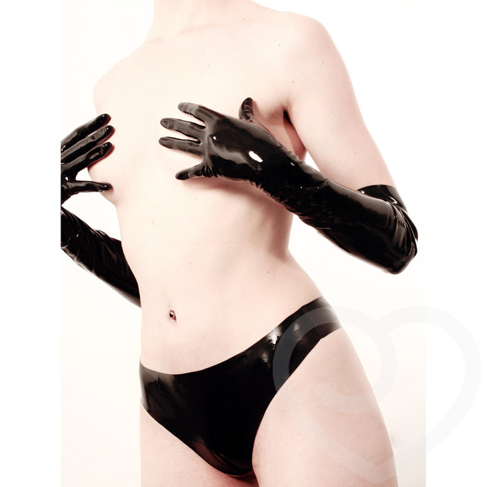 Rubber Girl Elbow Length Latex Gloves - Rubber Girl Latex