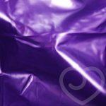 Slippery Vinyl Flat Bedsheet - Unbranded