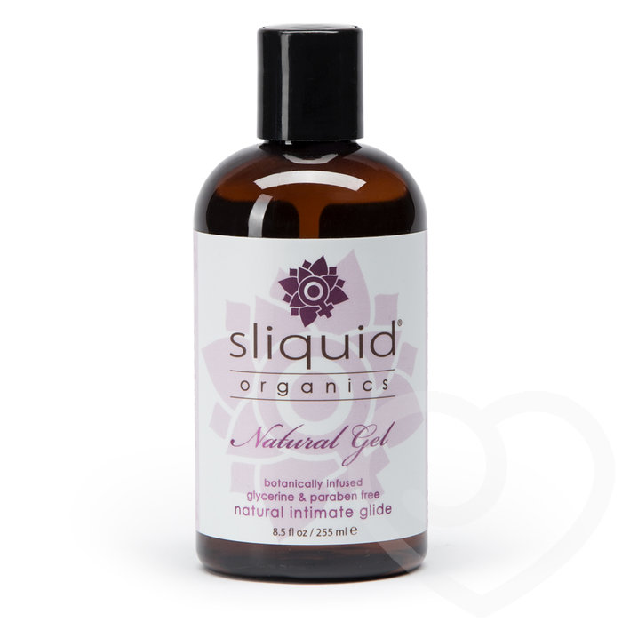 Sliquid Organics Natural Gel Lubricant 255ml - Sliquid