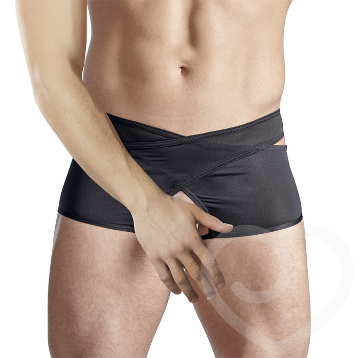Svenjoyment Open Crotch Wrapover Brief - Svenjoyment