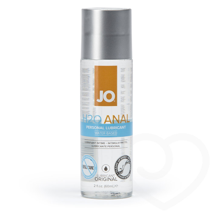 System JO H2O Water-Based Anal Lubricant 60ml - System JO