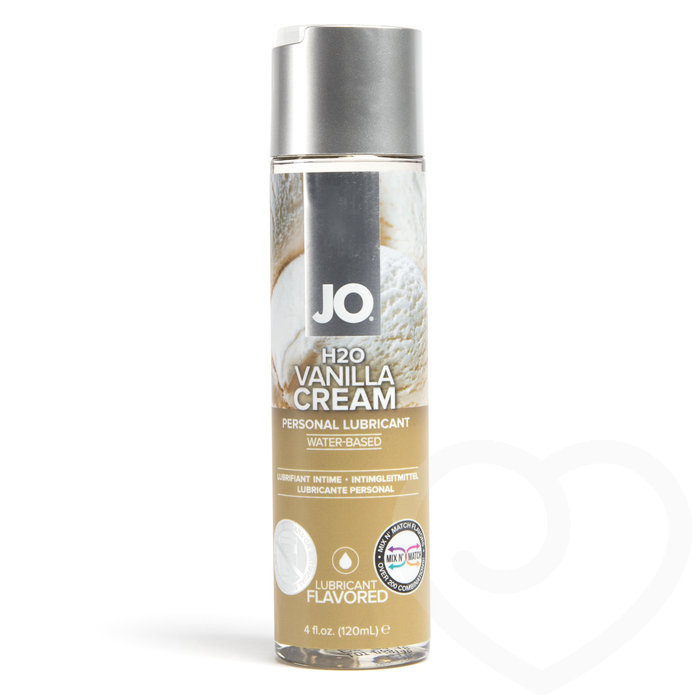 System JO Vanilla Cream Flavoured Lubricant 120ml - System JO