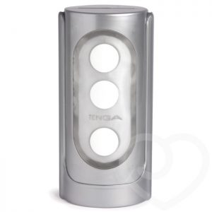 TENGA Silver Flip Hole Male Masturbator