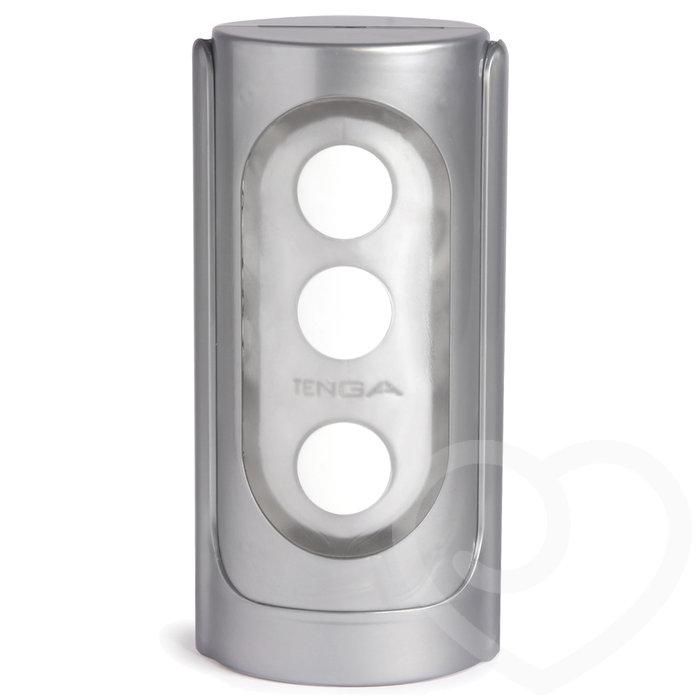 TENGA Silver Flip Hole Male Masturbator - Tenga