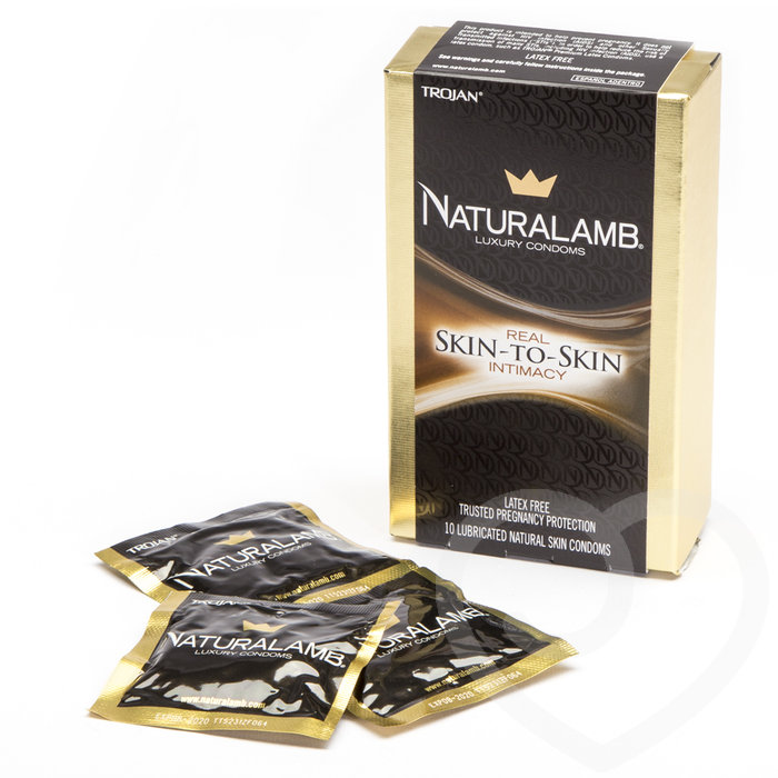 Trojan Naturalamb Non Latex Condoms (10 Pack) - Trojan