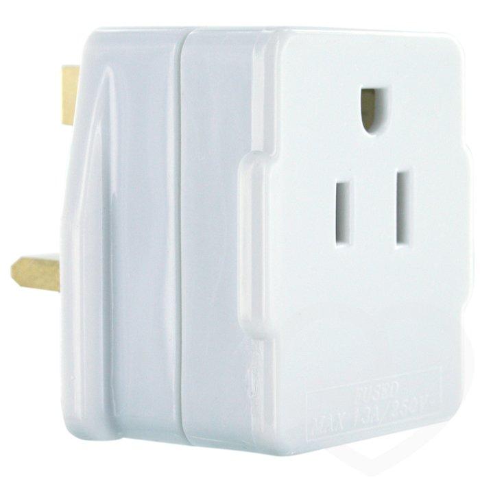 USA & Japan to UK Adaptor Plug - Unbranded