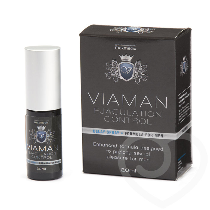 Viaman Delay Spray for Men 20ml - Unbranded