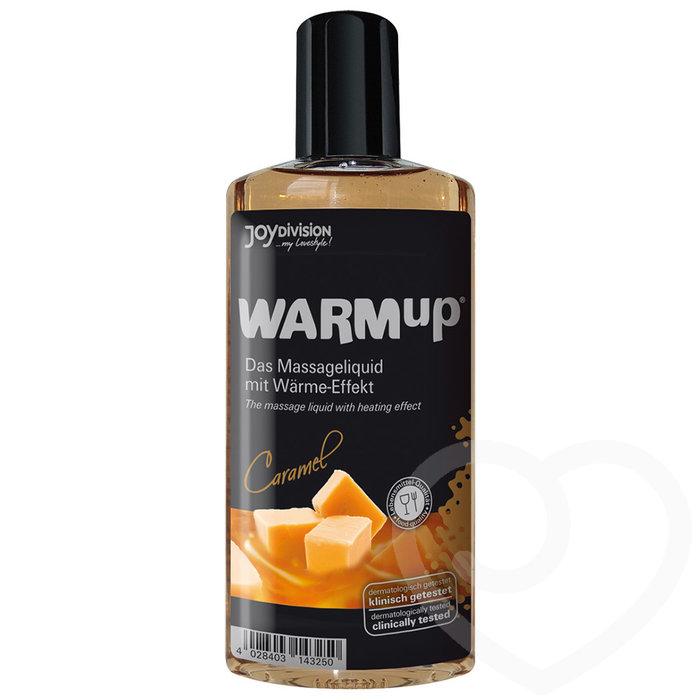 Warming Caramel Flavoured Massage Lubricant 150ml - Unbranded