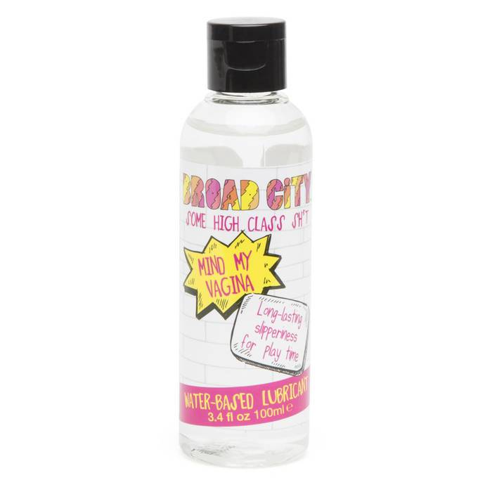 Broad City Mind My Vagina Water-Based Lubricant 100ml - Broad City