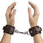 DOMINIX Deluxe BRAUN Leather Wrist Cuffs - DOMINIX