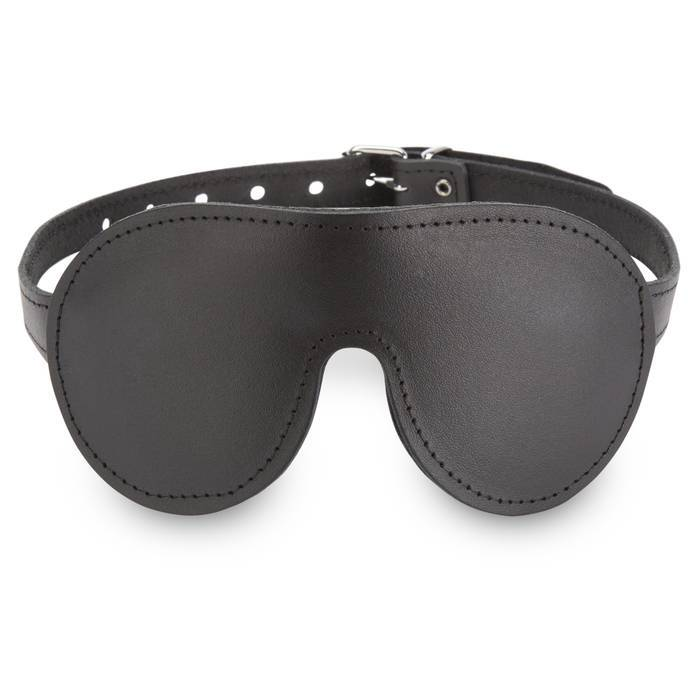 DOMINIX Deluxe Padded Leather Blindfold - DOMINIX