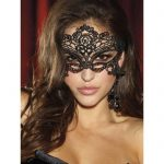 Embroidered Lace Venetian Mask - Shirley of Hollywood