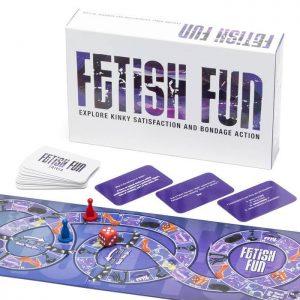 Fetish Fun Kinky Bondage Game for Couples