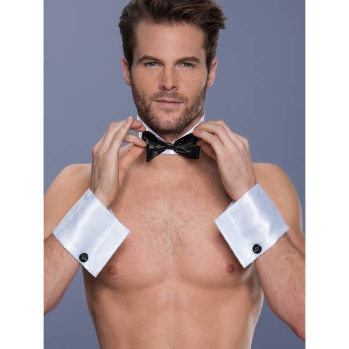 LHM Male Stripper Collar & Cuff Kit - LHM