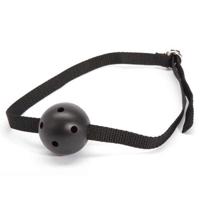 Lovehoney BASICS Large Breathable Ball Gag - Lovehoney BASICS