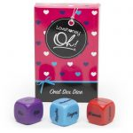 Lovehoney Oh! Oral Sex Dice (3 Pack) - Lovehoney Oh!