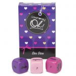 Lovehoney Oh! Roll Play Foreplay Dice (3 Pack) - Lovehoney Oh!