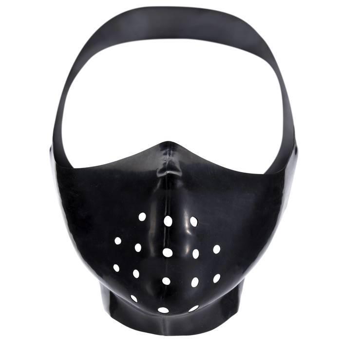 Renegade Rubber Latex Gimp Mask Muzzle - Renegade Rubber
