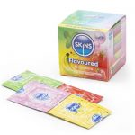 Skins Assorted Flavoured Condoms (16 Pack) - Skins Condoms