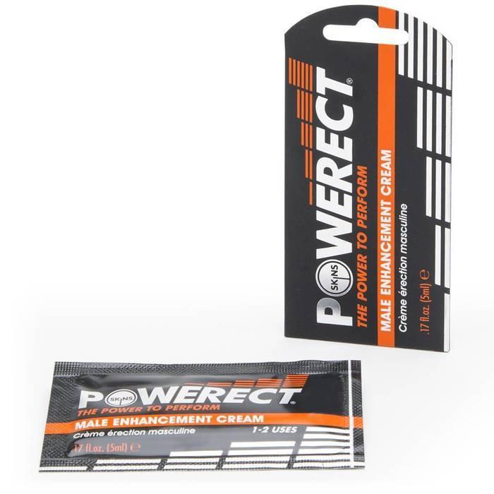 Skins Powerect Male Enhancement Cream 5ml - Skins Condoms