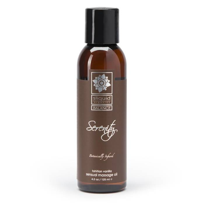 Sliquid Organics Serenity Massage Oil 125ml - Sliquid