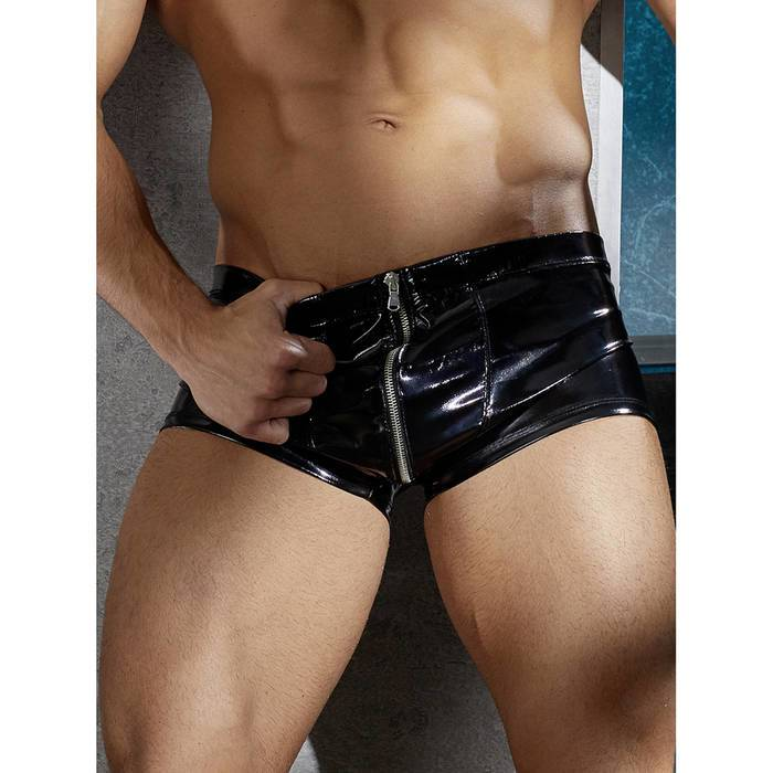 Black Level PVC Zip Front Boxers - Black Level