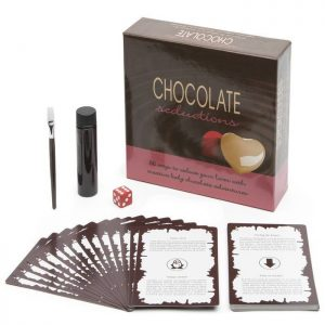 Chocolate Seduction Lovers Body Paint Game