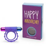 Happy Anniversary Couple's Vibrating Cock Ring Gift - Lovehoney
