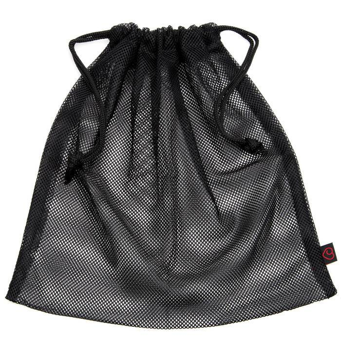 Lovehoney Black Mesh Drawstring Gift Bag - Lovehoney