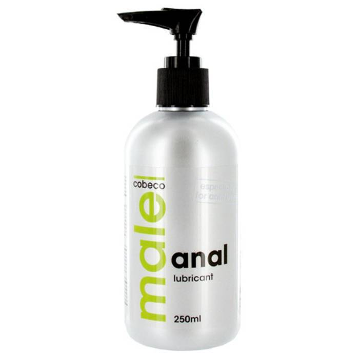 Male Cobeco Water-Based Anal Lubricant 250ml - Cobeco Pharma