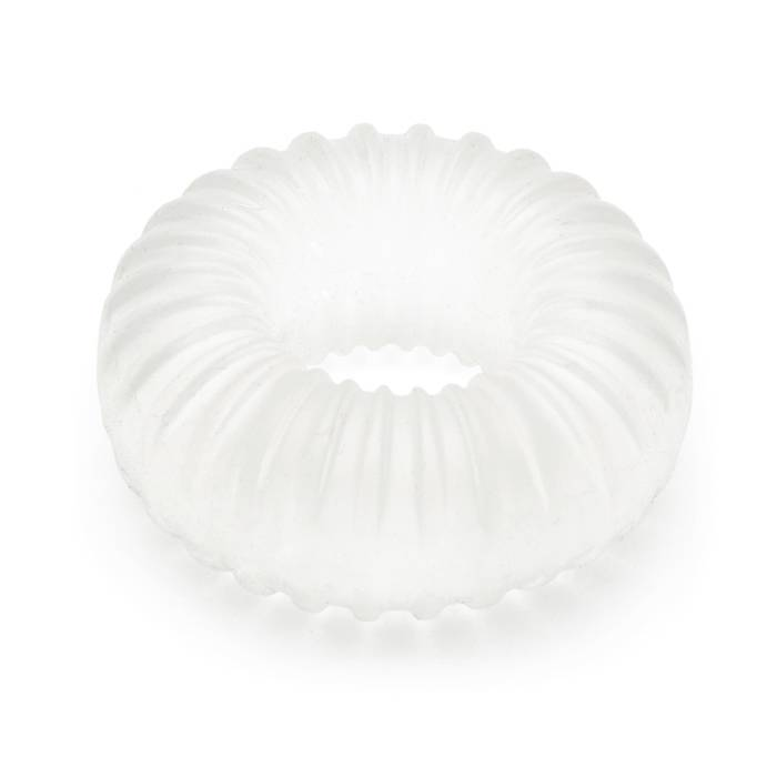 Perfect Fit Long Lasting Stretchy Ribbed Cock Ring - Perfect Fit