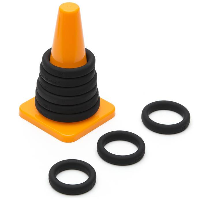Perfect Fit Play Zone Silicone Cock Ring Set (9 Pack) - Perfect Fit