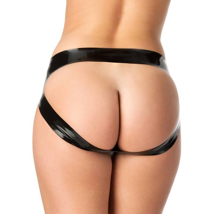 Rubber Girl Latex Spanking Knickers - Rubber Girl Latex