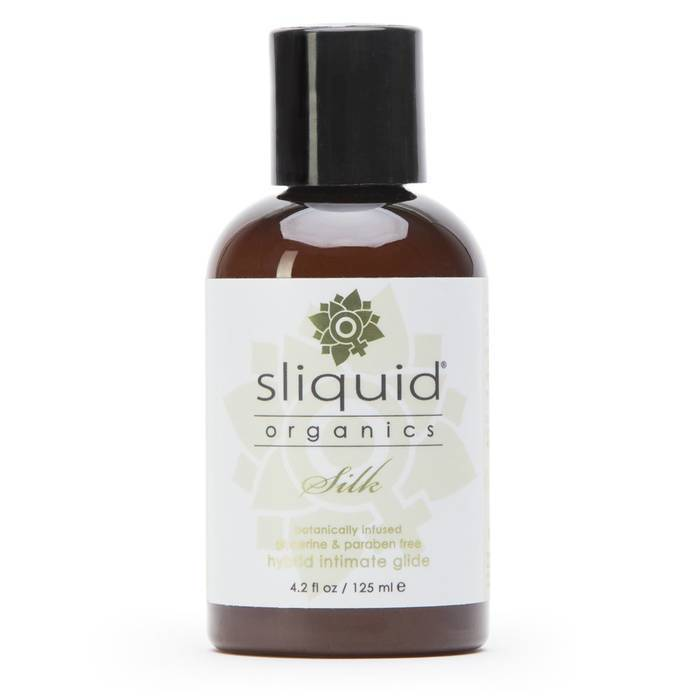 Sliquid Organics Natural Silk Hybrid Lubricant 125ml - Sliquid