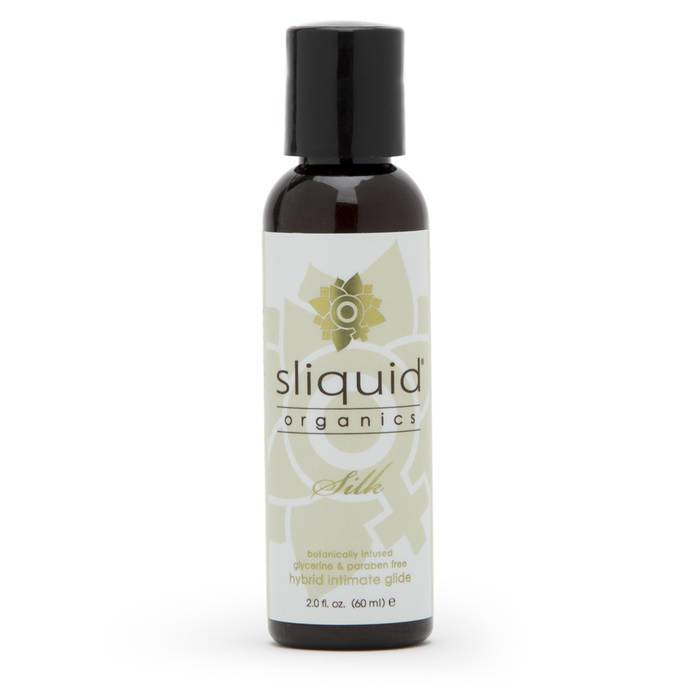Sliquid Organics Natural Silk Lubricant 60ml - Sliquid