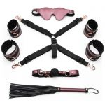 Bondage Boutique Seduce Me Lover's Bed Bondage Kit (4 Piece) - Bondage Boutique