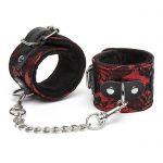 Bondage Boutique Lace and Faux Fur Wrist Cuffs - Bondage Boutique