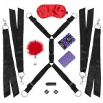 Lovehoney Bind Date Bondage Kit (8 Piece) - Lovehoney