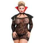Lovehoney Plus Size Vampire Vixen Costume Bundle - Lovehoney Lingerie