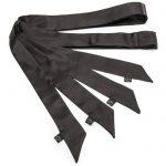 Lovehoney Silky Black Bondage Restraints (4 Pack) - Lovehoney