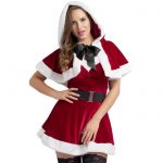 Miss Santa Dress and Cape Outfit - Fever Costumes
