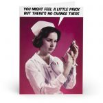 Feel A Little Prick.... Adult Greetings Card - Unbranded