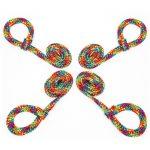 Bondage Boutique Rainbow Soft Rope Restraints - Bondage Boutique