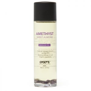 EXSENS Amethyst Sweet Almond Massage Oil 100ml