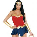 Fantasy Play Warrior Goddess Superhero Costume - Fantasy Lingerie