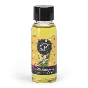 Lovehoney Oh! Vanilla Kissable Massage Oil 30ml