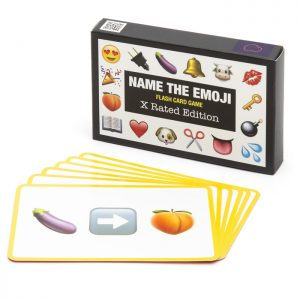Name The Emoji X-Rated Flash Card Game