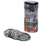 ONE Tattoo Touch Ribbed Condoms (12 Pack) - ONE Condoms