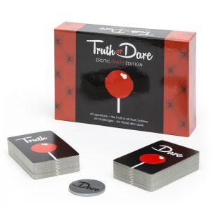 Tease & Please Truth or Dare Card Game – Erotic Party Edition